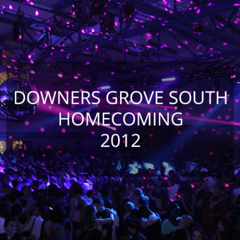 Downers Grove South Homecoming 2012