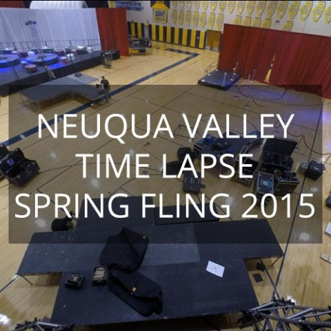 Neuqua Valley Spring Fling 2015 - Time Lapse