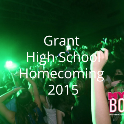 Grant High School Homecoming 2015
