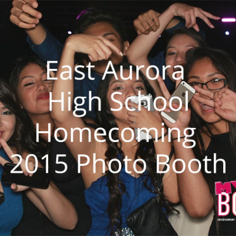 East Aurora High School Homecoming 2015 Photo Booth
