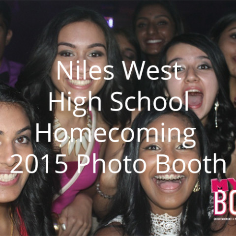 Niles West High School Homecoming 2015 Photo Booth
