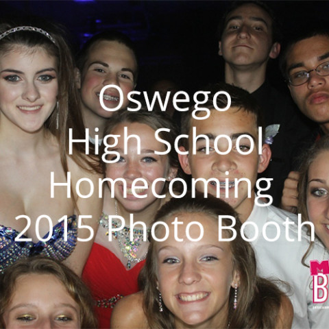Oswego High School Homecoming 2015 Photo Booth