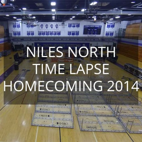 Niles North High School Homecoming 2014 - 4 Day Time Lapse